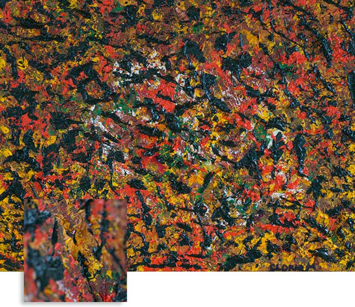 Falling Leaves, Medium: Oil on Canvas Dimension: 17 x 13 inches, Price: Price: Contact the Artist