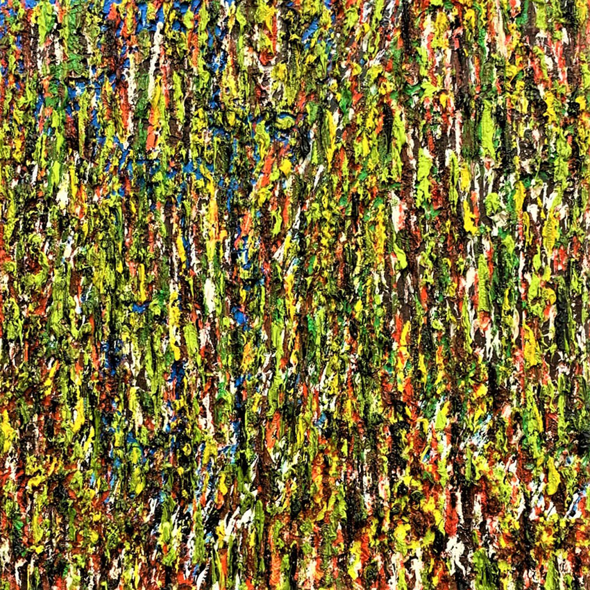 "Forest in the Spring /  Medium: Oil w/ Texture on Canvas / Size: 19"" x 24"""